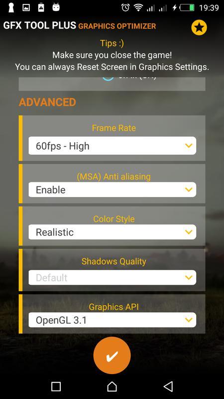 Download&Play PUB GFX Tool Plus for PUBG - NOBAN 60FPS on