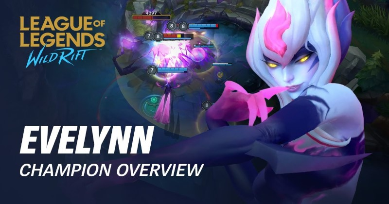 League of Legends Wild Rift Jungle Evelynn Build Guide, Evelynn Combos and Counters!