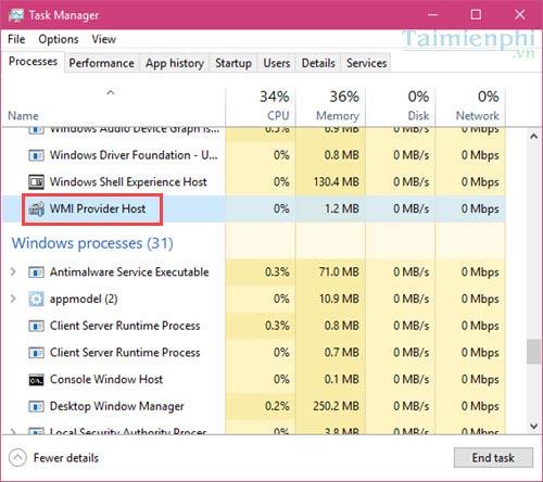 Khắc phục lỗi CPU quá tải, ngốn CPU trên...