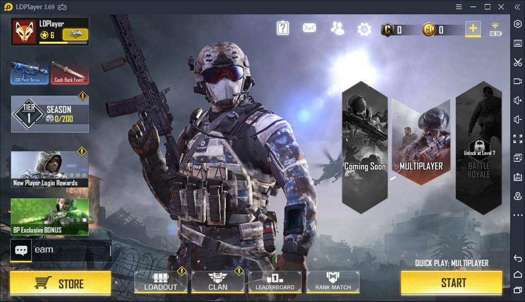 Jouer à COD Mobile sur PC